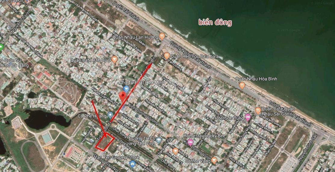 202m2 đất ven biển Đà Nẵng cách biển 500m