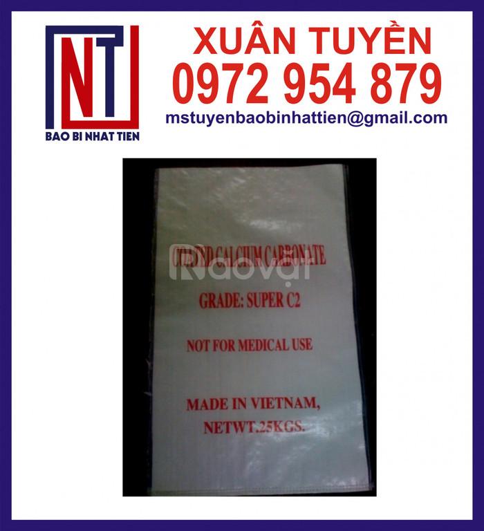 Bao PP dệt 50-75cm, cung cấp bao đựng 25kg