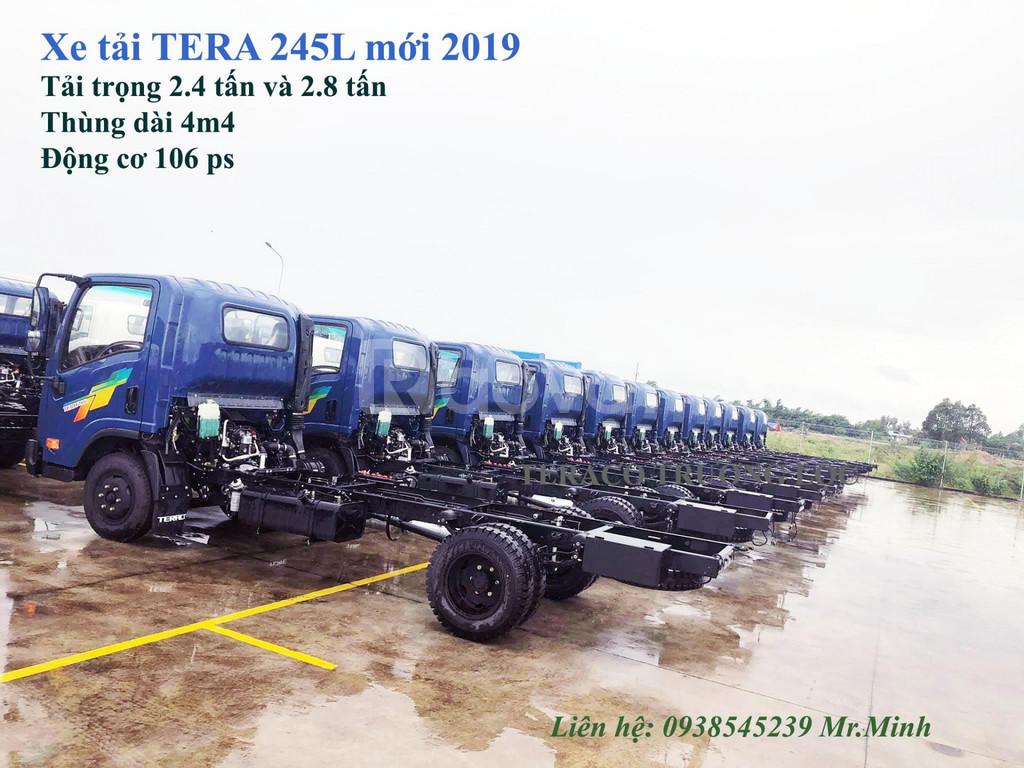 TERACO 245L mới 2019 I xe tải 2t4 Hàn Quốc I Teraco 2t8 thùng dài 4m4