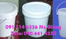 Vỏ thùng sơn 3.8 lít, 4lít, thùng nhựa 20 lít đựng sơn, xô nhựa
