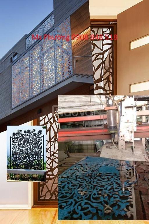 Ban công thiết kế kiểu dáng hiện đại, sang trọng cho nhà đẹp, đẳng cấp