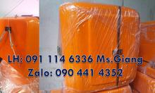 Thùng giao hàng cỡ trung màu cam,thùng ship hàng