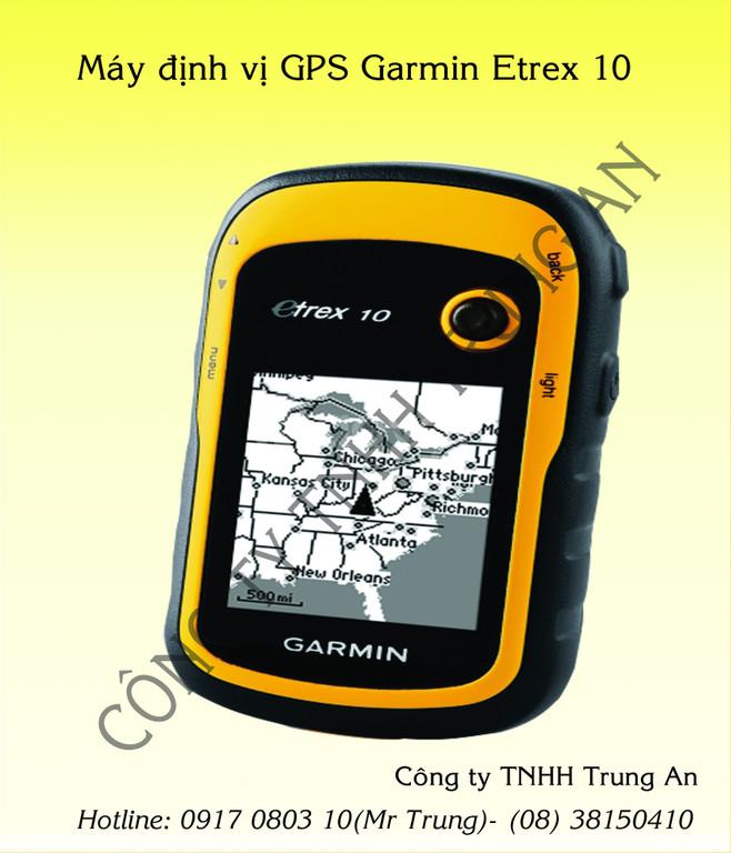 Máy đo đất gps Garmin Etrex 10 cầm tay (ảnh 4)