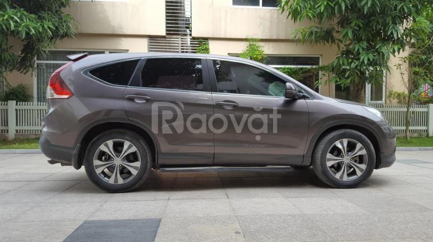 Cần bán xe Crv 2014, số tự động bản 2.4, màu xám cọp, xe còn mới tinh