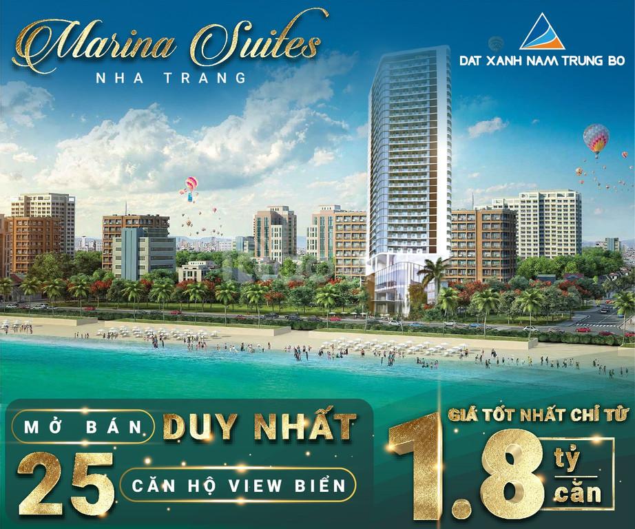 Marina Suites Nha Trang - Căn hộ Hoàng Gia Anh  tại xứ sở Trầm Hương