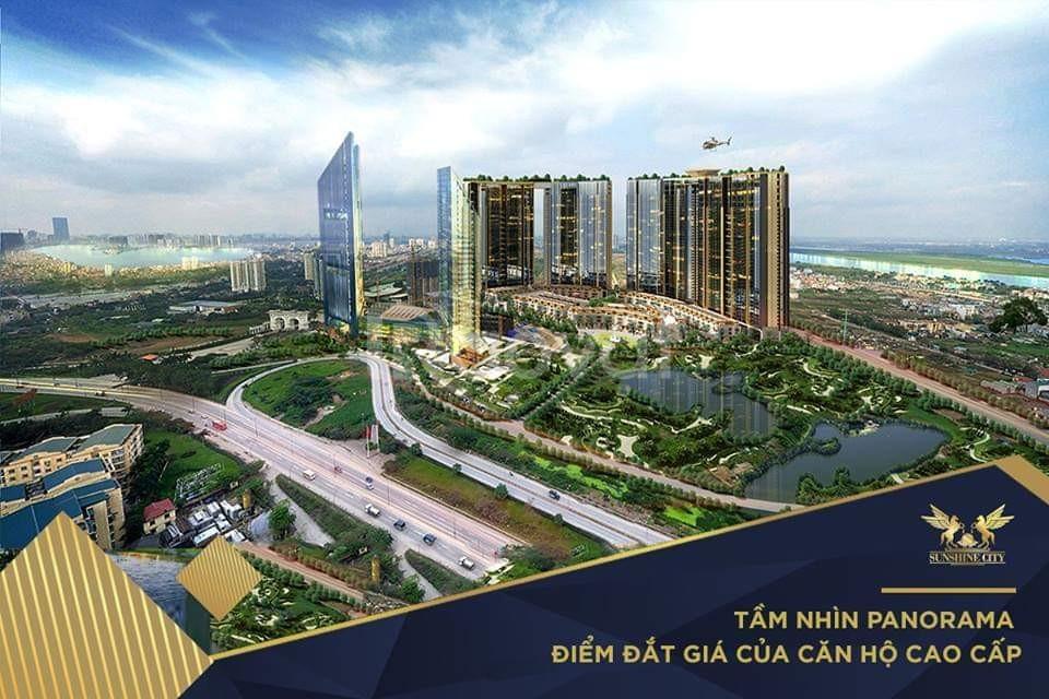 Chung cư Sunshine City Ciputra chỉ từ 3.8tỷ/3PN, CK 5%, tặng 85tr