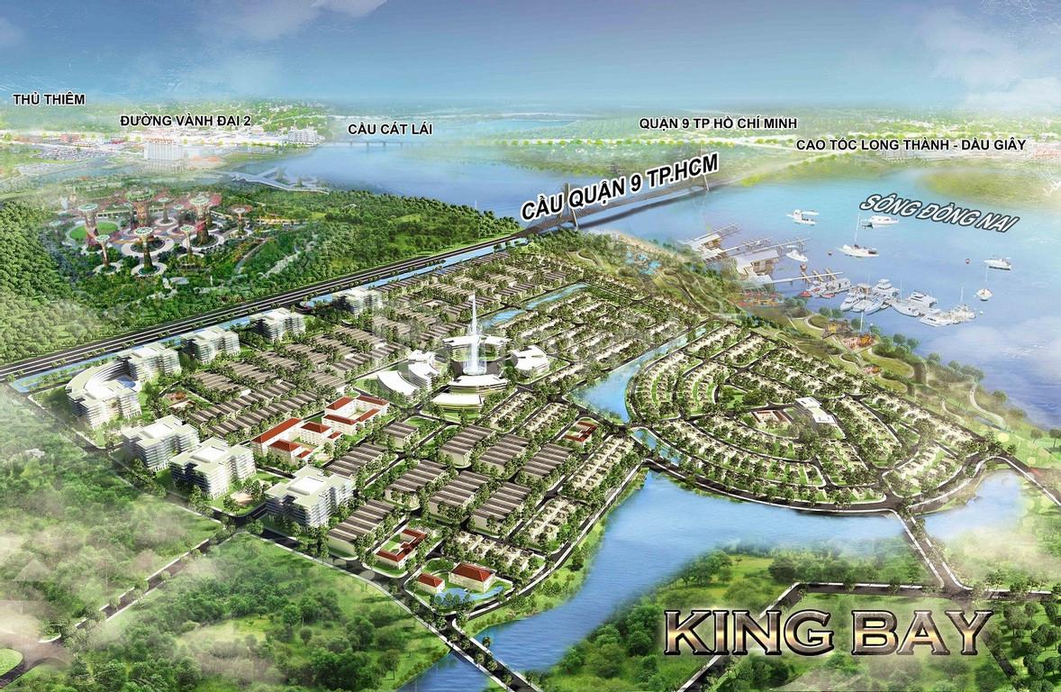 Đất biệt thự, nhà phố, King Bay, hội tụ Phong Thủy - hội tụ Thượng Lưu