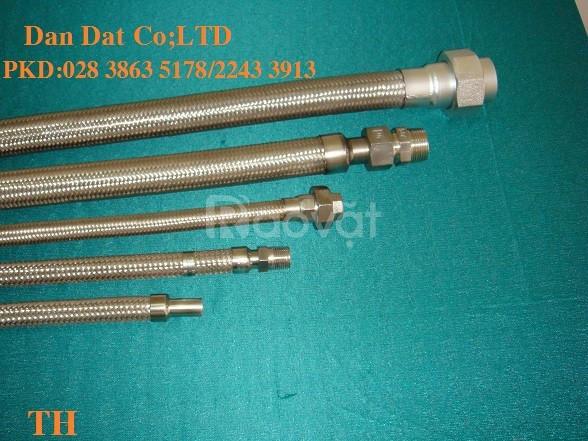 Dây dẫn nước inox 304-khớp nối nhanh inox dầu khí-khớp chống rung inox