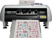 Máy cắt bế tem nhãn decal Z13 Pro lên giấy tự động