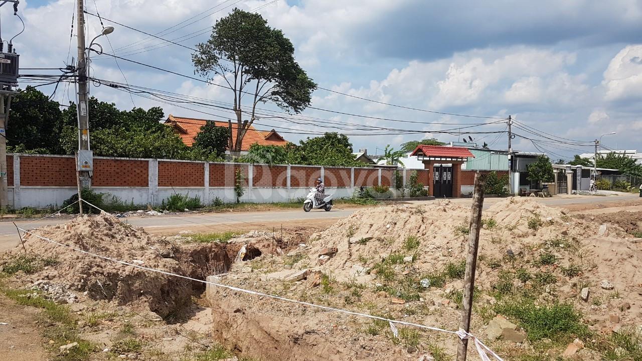 Cần bán 80m2 đất thổ cư,mặt tiền Hồ Văn Tắng, Tân Phú Trung, Củ Chi
