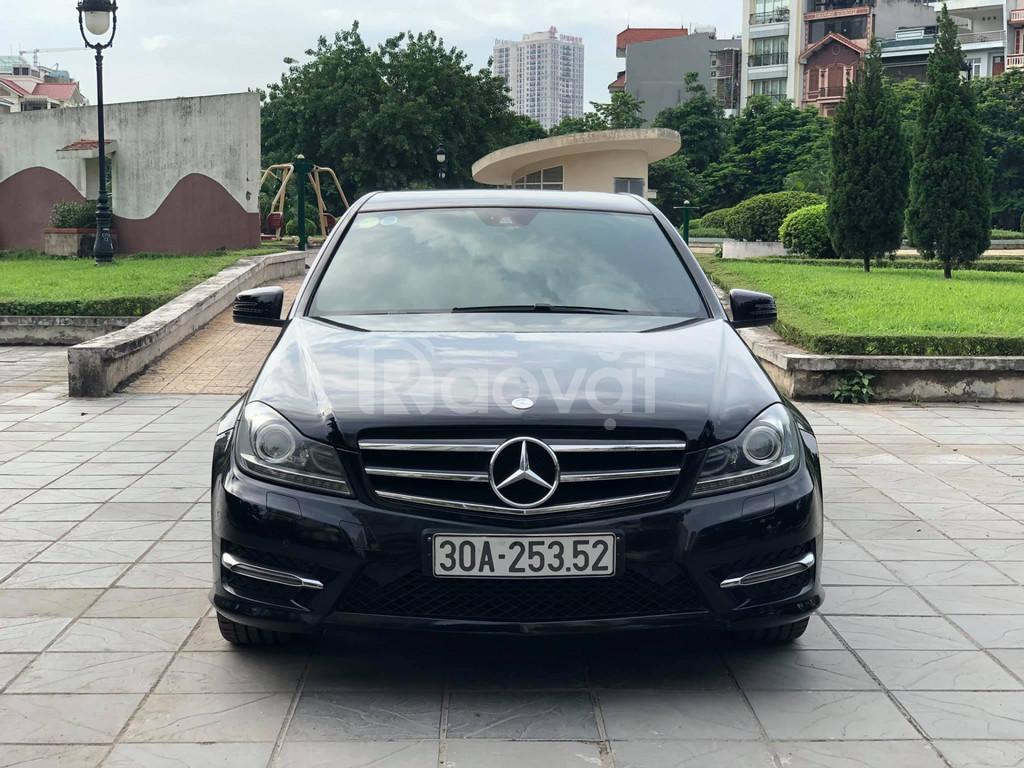 Mercedes C200 đen sản xuất 2013 uy tín giá tốt