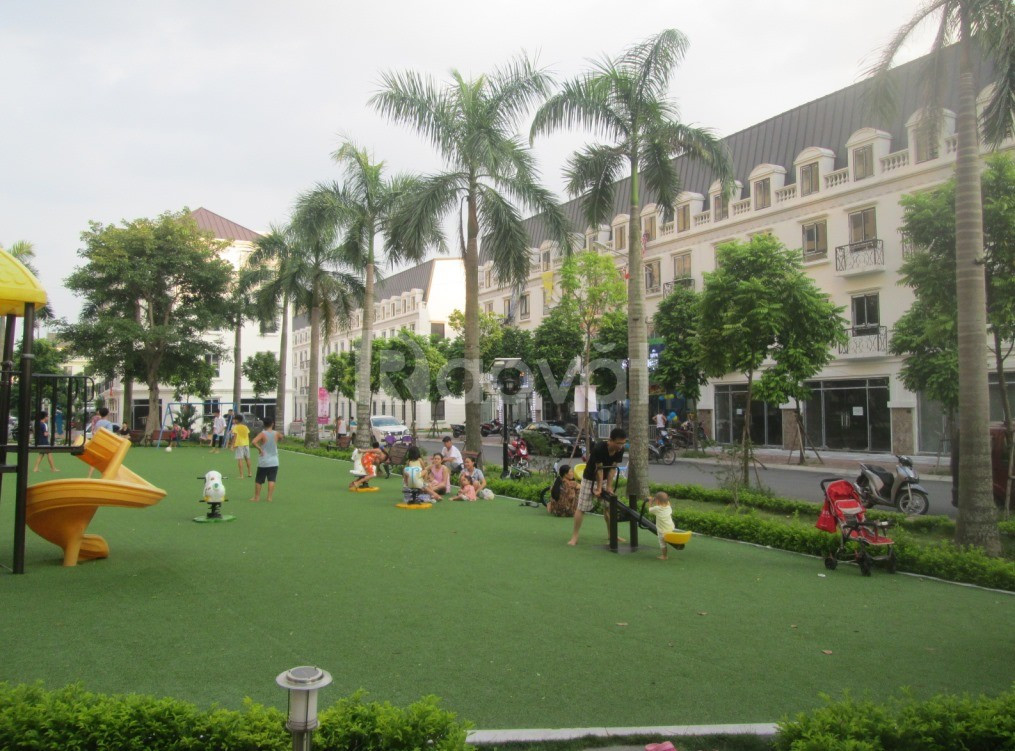 Shophouse góc khu La Casta view vườn hoa 101m2x5T giá 7.39 tỷ