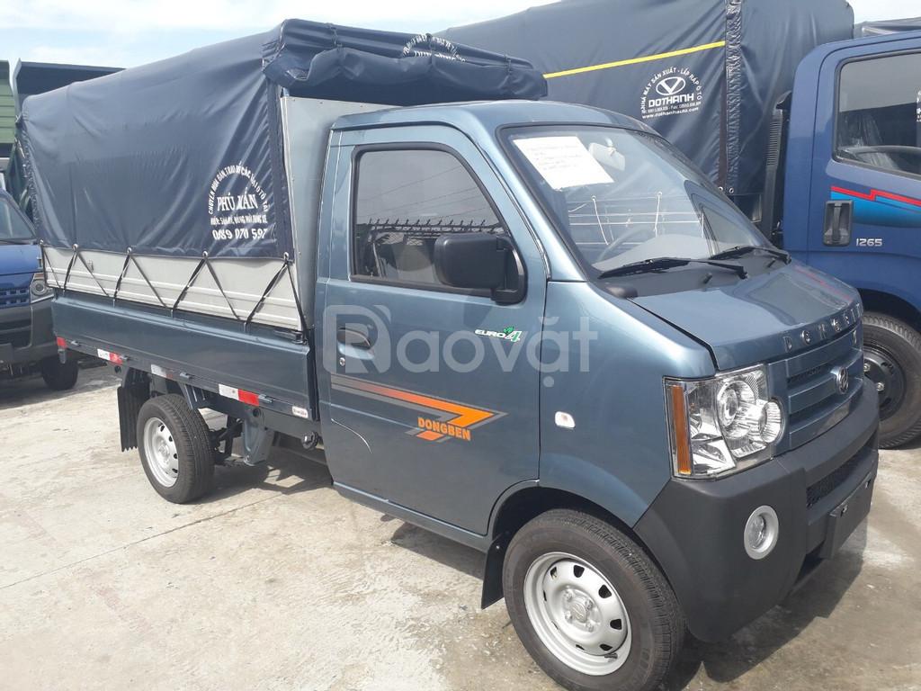Xe tải dongben 870kg hỗ trợ trả góp