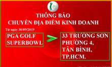 Bộ gậy golf Honma 2 sao giá tốt tại Pga golf 33 Trường Sơn-Tân Bình