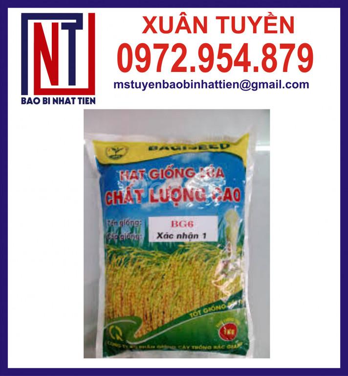 Tui đựng lúa gạo, bao bì lúa giống 1kg