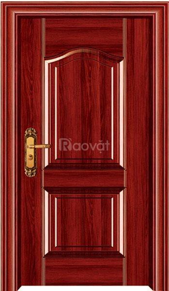 Cửa thép vân gỗ đẹp, sang trọng Ankovina