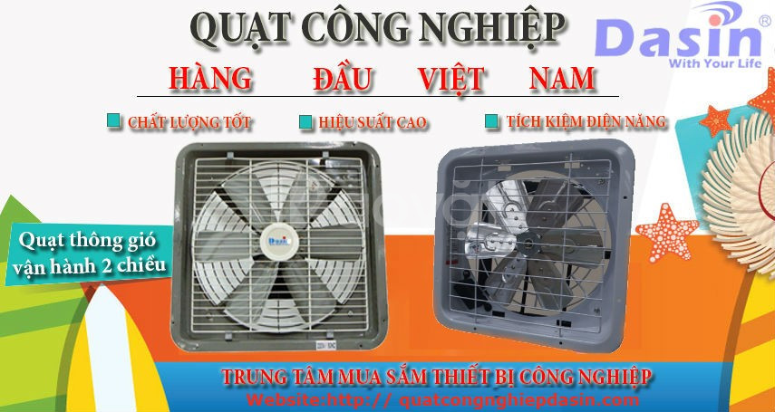 Quạt thông gió công nghiệp Dasin ở Bắc Ninh