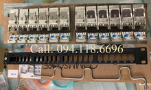 Patch Panel CAT6A Commscope chống nhiễu, 24 port mã 1933319-2