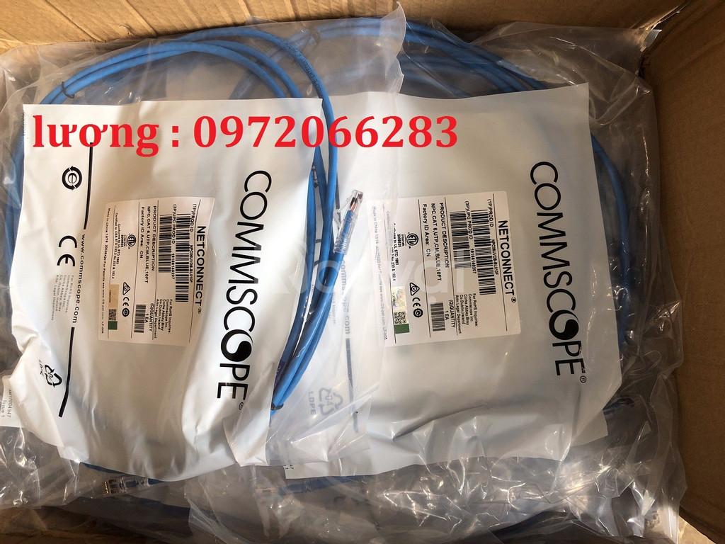 Dây nhảy patch cord AMP Cat6 3m (NPC06UVDB-BL010F)
