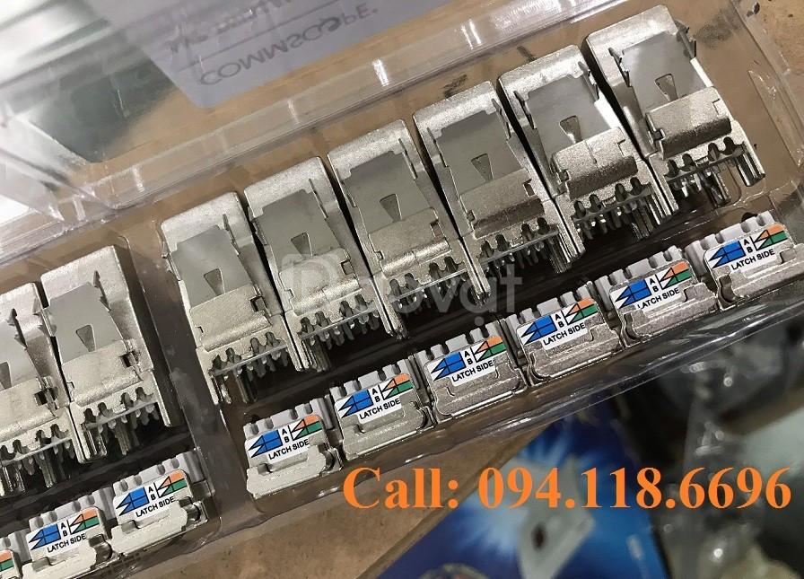 Patch Panel CAT6A Commscope chống nhiễu, 24 port mã 1933319-2