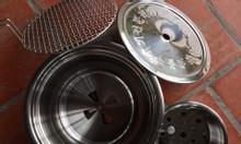 Bếp nướng than âm bàn hút trên Hàn Quốc,bếp nướng ko khói bbq Hàn Quốc