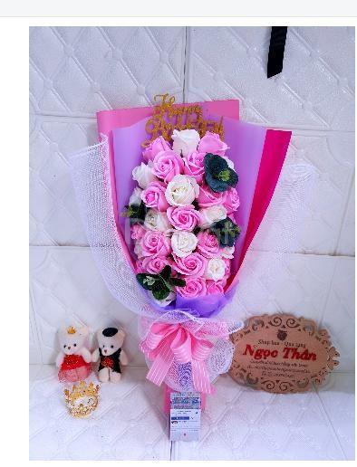 Bán hoa hồng sáp thơm tại tphcm - Hoa Sáp Ngọc Thân