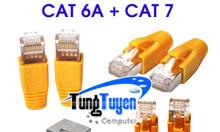 Hạt mạng cat 6a + 7ftp commscope, có đầu chụp có sẵn tại Tùng Tuyến