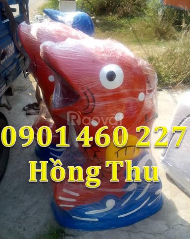 Thùng rác con vật giá rẻ giá thùng rác con voi thùng rác chim cánh cụt