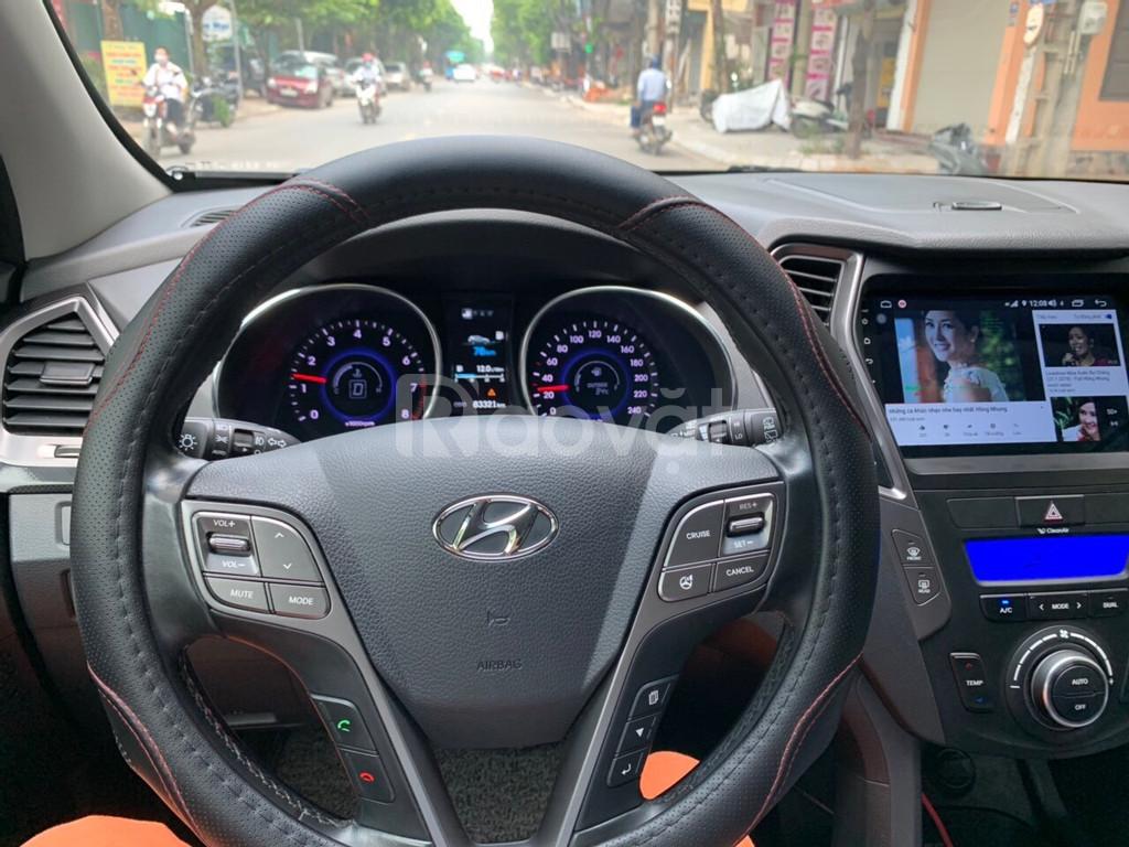 Hyundai Santafe 2014 màu đen, tư nhân chính chủ
