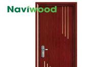 Cửa gỗ nhựa Naviwood tại Cần Thơ