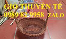 Hà Nội bán buôn giỏ mây đựng quà tết giá rẻ toàn quốc