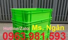 Hộp nhựa B2, thùng nhựa đặc, sóng nhựa bít B2, thùng nhựa cơ khí
