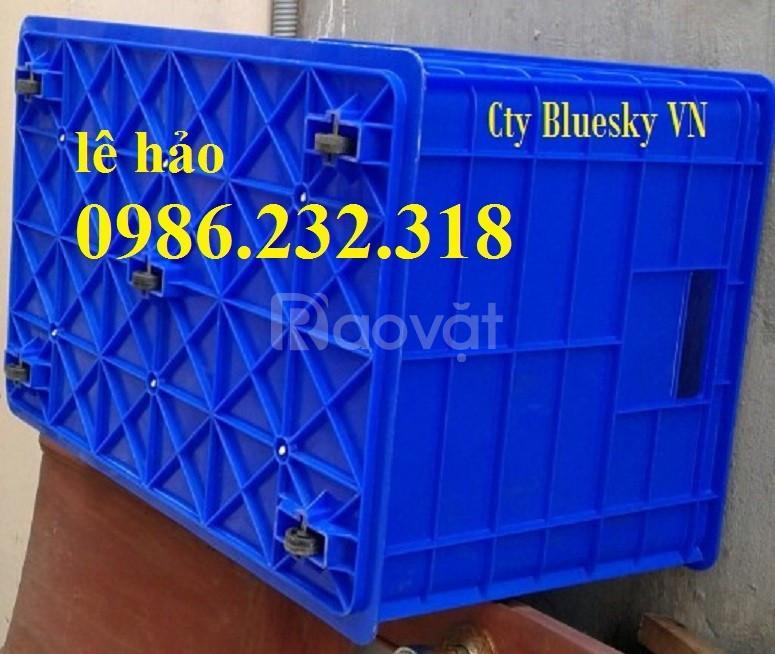 Thùng nhựa bánh xe, thùng b1, thùng b2, b3, b4, sóng nhựa bit