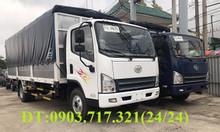 Xe tải Faw 7,3 tấn | Faw 7t3 thùng dài 6m3 động cơ hyundai D4DB ga cơ