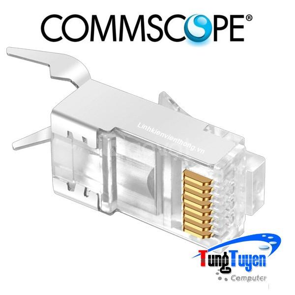 Hạt mạng cat 6a + 7 ftp commscope, không đầu chụp giá rẻ