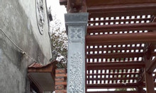 Địa chỉ bán mẫu cột hiên đá nhà thờ họ từ đường chất lượng