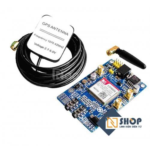 Module SIM808 (GPS, GSM)