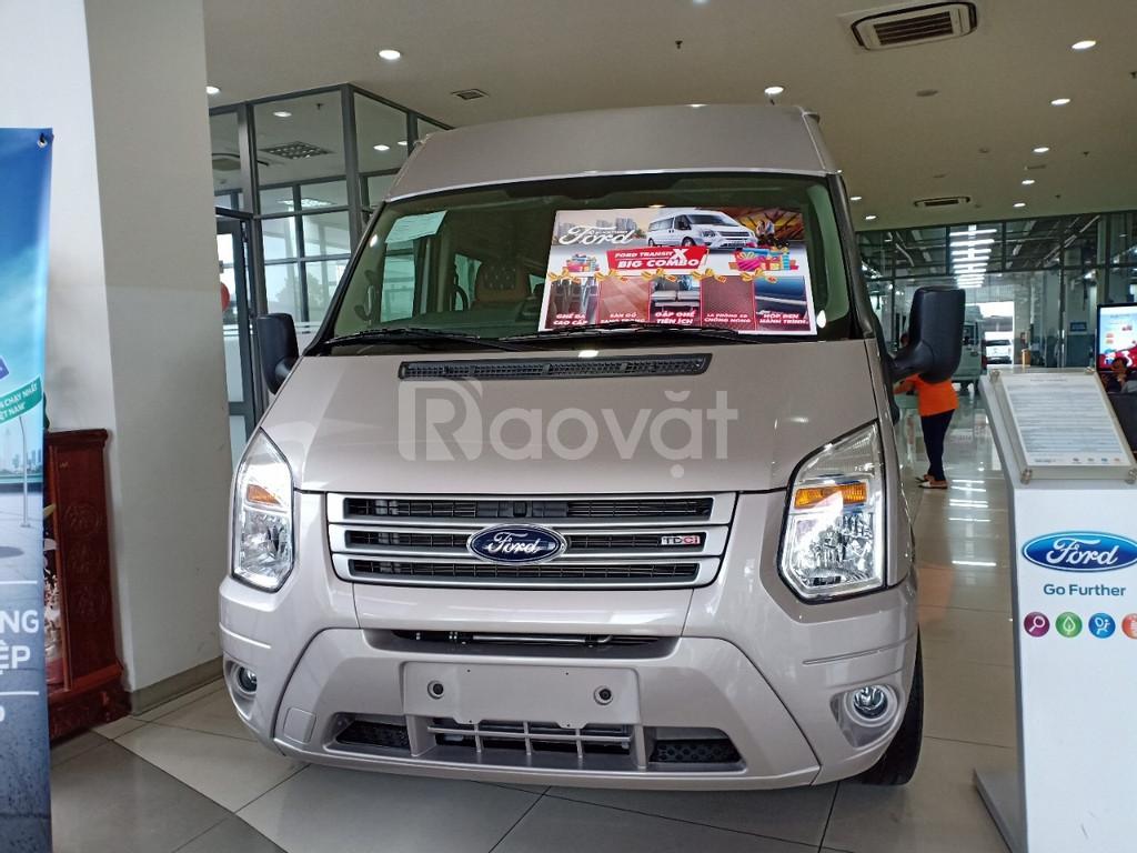 Ford Transit, tặng ngay gói combo phụ kiện hấp dẫn