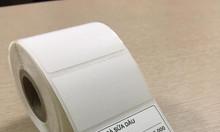 Thanh lý giấy in tem trà sữa giá rẻ tại Bắc Giang