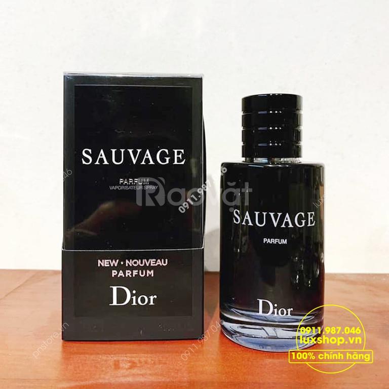 Nước hoa nam Dior Sauvage Parfum 2019 chính hãng tại Luxshop