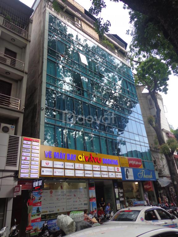 Cho thuê văn phòng mặt phố Lý Nam Đế, DT 40-80m2, giá chỉ 12.5tr/tháng