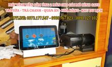 Lắp đặt tận nơi máy tính tiền cho quán Trà Chanh tại Hà Nội