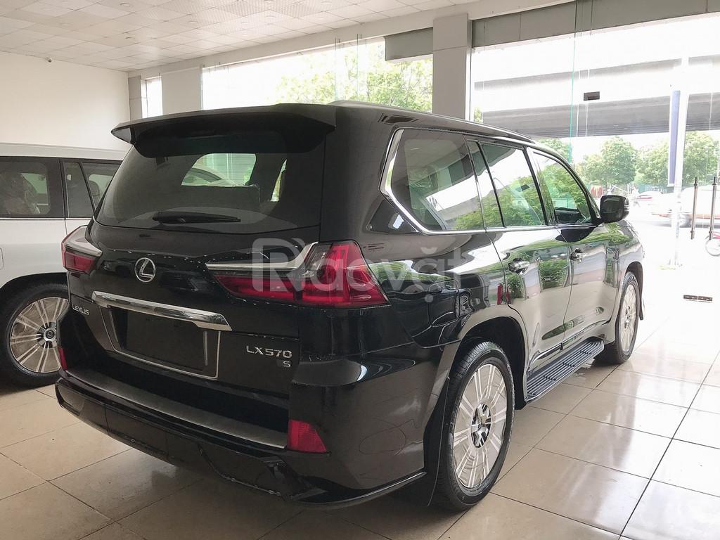 Bán Lexus LX570 Super Sport 2019 nhập khẩu trung đông xe giao ngay