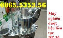Máy nghiền dược liệu dạng búa DF20
