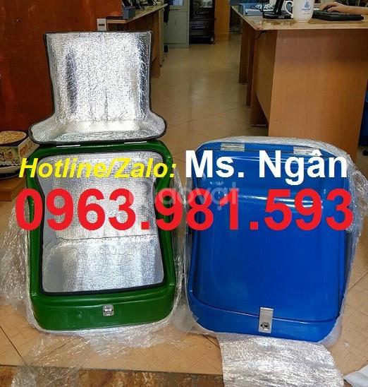 Thùng chở hàng loại nhỏ,  thùng nhựa composite, thùng chở hàng sau xe