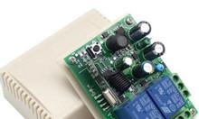 Bộ điều khiển RF 433Mhz 220V 2 kênh (Không kèm remote)
