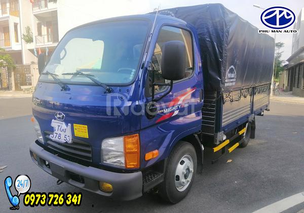 Xe tải Hyundai 2t4 thùng dài 4m4 - chỉ cần trả trước 100 triệu .