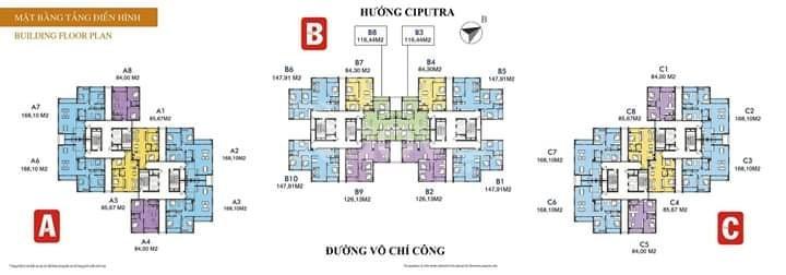 Bán căn hộ Udic Westlake, Võ Chí Công 85,7m2, 2 PN full nội thất