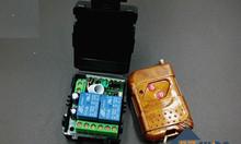 Bộ điều khiển Relay 2 kênh học lệnh 315Mhz 12VDC