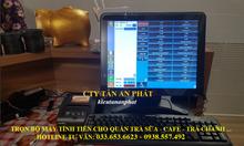Bán máy tính tiền cảm ứng cho quán cafe tại Biên Hòa